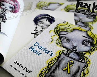 Children's Illustrated Soft Cover Story Book ~ Darla's Hair Written by Justin Duff and Illustrated by Lizzy Love