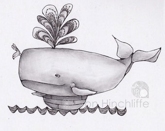 Limited Edition Print - Whale Ride