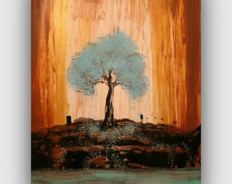 Tree Painting  - Original Stretched on Canvas