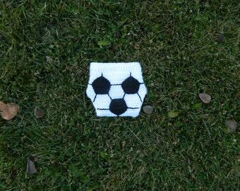 soccer diaper cover//newborn//infant//baby