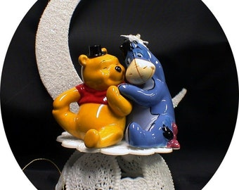 Disney Beauty And The Beast Wedding Cake Topper By