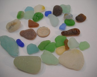 Genuine Craft Sea Glass From the Pacific Northwest Craft Or Project Glass