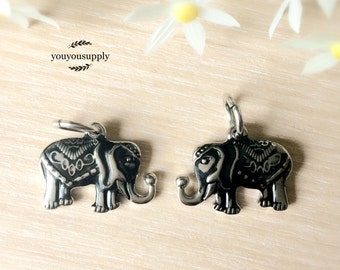 Elephant Stainless Steel Pendant Charm