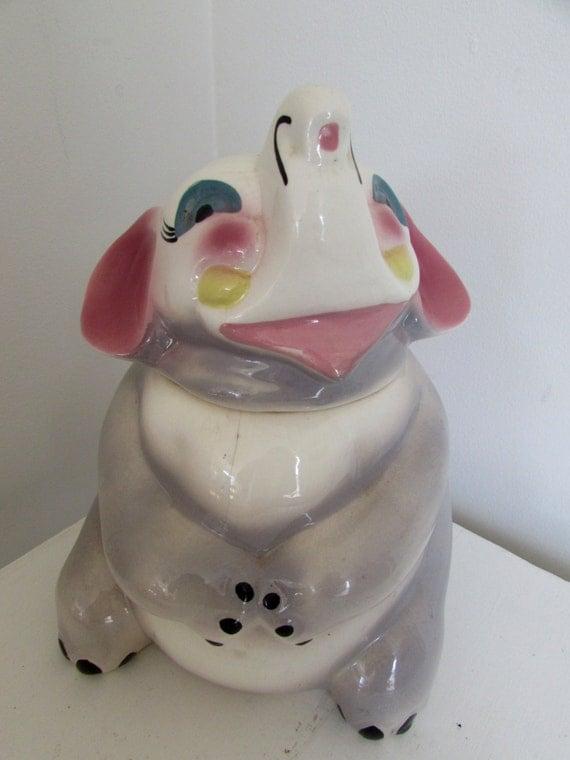 Vintage elephant cookie jar sierra vista - Vintage elephant cookie jar ...