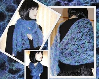 Kool Kid Lace Shawl Knit Kit