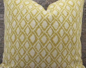 Designer Pillow Cover -Lumabr, 16 x 16, 18 x 18, 20 x 20, 22 x 22, Euro - Nate Berkus El Toro Acacia