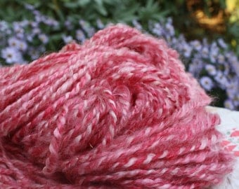 RawCo. Sprinkles // Lincoln Longwool knitting yarn // Handspun yarn