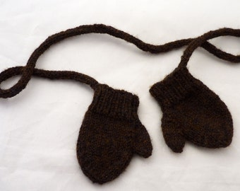 Mittens on a String