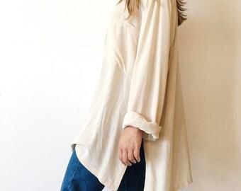 Silk Oversized Tunic