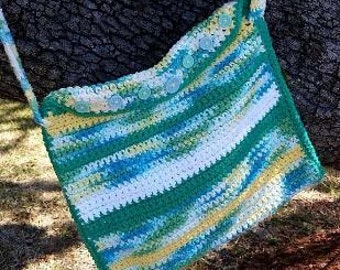 Green and Yellow Variegated Bag