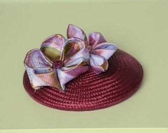 Lotus flowers' buntal berret