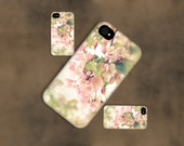 Floral Photography Phone case,soft pink apple blossoms case,ipad case,unique photography,nature photography,iPhone case,Samsung Galaxy case