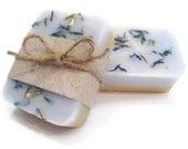 Lavender and Lemon Wedding favor Soaps, gift soaps, party favor soap, bridal party soap, bridal shower gift, gift idea wedding