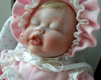 Porcelain Baby Doll Elizabeth Homecoming Realistic Baby Doll