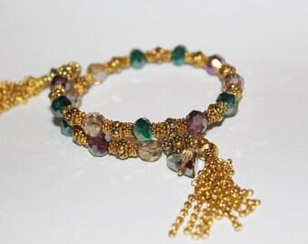 evil eye beaded Hamsa bracelet, hamsa bracelet, evil eye bracelet, hamsa charm bracelet, evil eye charm, evil eye charm bracelet