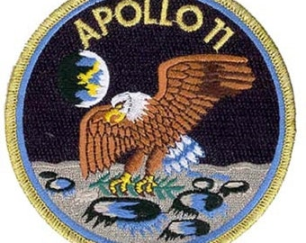 Apollo 11 First Lunar Landing Uniform Patch