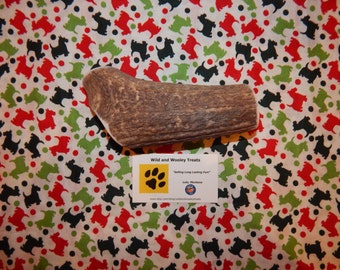 "Organic Jumbo Elk Antler Dog Chew ""Made in Montana"" (Lot C78)"