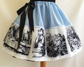 Alice In Wonderland Dressing Up Skirts By Rooby Lane