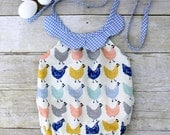 Chicken Little Romper 12m Ready to Ship