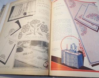 Vintage / Antique RARE Handmade Book Paper Ephemera Advertisements 1930-1932 OOAK Lot Mixed Media Craft Supplies Design Embellishments