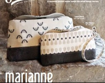 Marianne Clutch and Wristlet Swoon Pattern