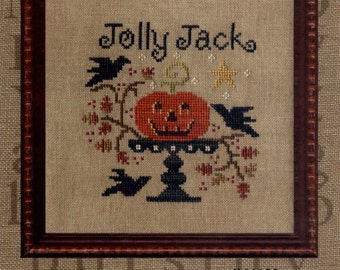 All Through the Night: Jolly Jack  -  Cross Stitch Pattern