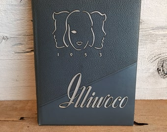 1953 Illiwoco Yearbook for Macmurray College For Women