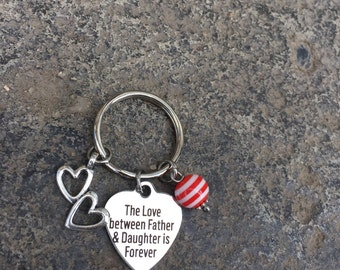 Dad Appreciation Key Chain Father's Day