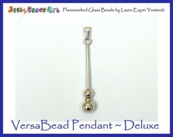VersaBead PENDANT Deluxe - sterling silver bead holder