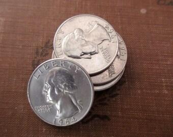 1964 US quarter - 90% silver