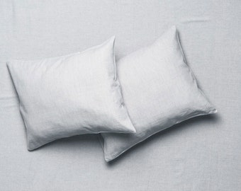 Queen King Twin or double Sheet set Dove grey Includes soft linen fitted sheet, upper flat sheet, one or two pillowcases