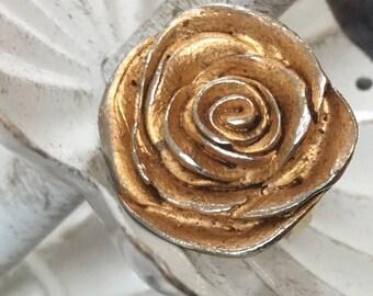 Golden Rose Ring