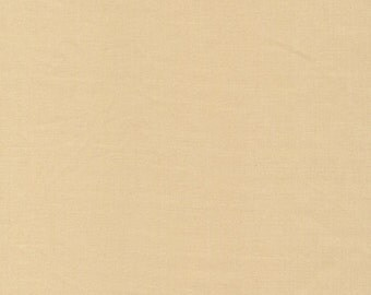 SAND Cirrus Solid, Chambray Weight, Crossweave, Yarn Dyed Solid Fabric, 100% GOTS-Certified Organic Cotton, Cloud9 Fabrics, 903
