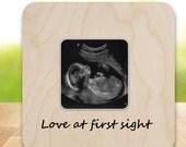 Ultrasound Sonogram Frame New Baby Frame love at first sight