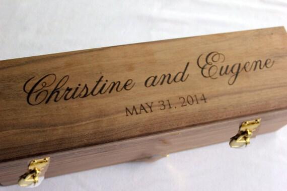 Wine Box Wedding Ceremony Love Letter Ceremony By