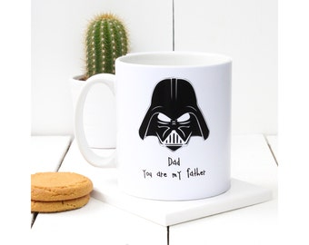 Star Wars Themed 'Dad You Are My Father' Mug and Cup