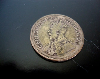 Coin South Africa, 2-1/2 shillings 1934, Silver 2-1/2 Shilling