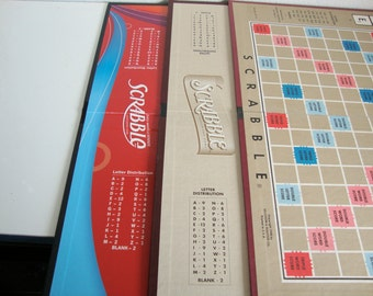 Game Boards, 5 Game Boards, 2 Monopoly Game Boards, 3 Scrabble Game Boards, Art Supplies, Vintaage games