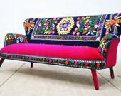 Suzani 3-seater sofa - Summer