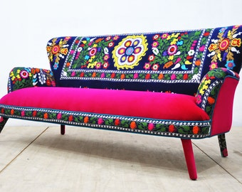 SPRING SALE 15% OFF: Suzani 3-seater sofa - Summer