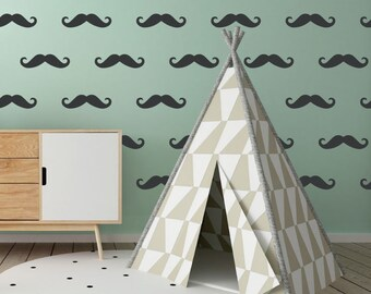 Charles  Ray Eames Style Dot Pattern Wall Decals Mid - Make your own decals uk