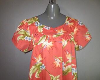 Hawaain MuMu// Hawaiian MuuMuu // Aloha Republic Made in Hawaii