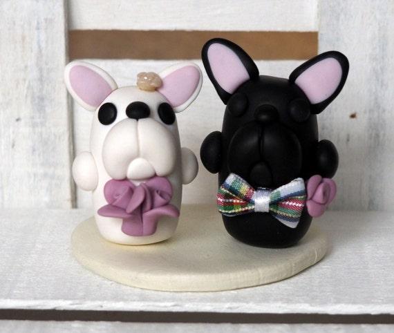 French Bulldog Cake Topper Bulldogs Wedding