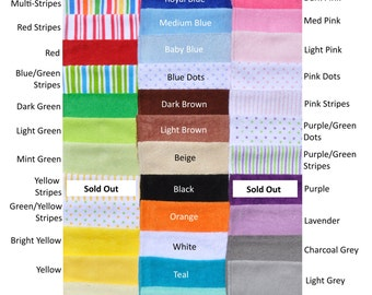 Baby Washcloths - Your Choice - 10 Pack