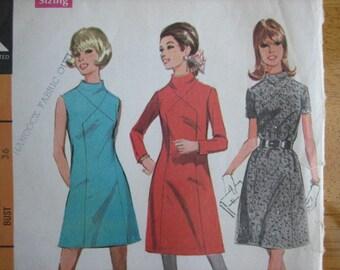 McCall's Pattern 9426 Misses' Dress in Three Versions      1968       Uncut