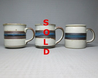 vintage Otagiri Horizon coffee mug CHOOSE ONE ! two mugs left stoneware japan