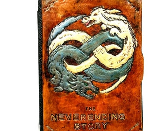 Neverending Story Tablet - Falcor - Ereader - handmade - leather -  Gift - Ipad - Ipad Mini - Kindle Fire - Samsung Tablet - Geek Gift
