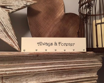Stock Clearance - Sold As Is - Wooden Signs, Plaques
