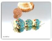 Lampwork Sea Shells Beads