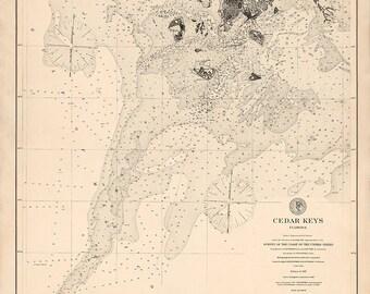 Cedar Keys – 1887